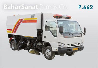 Road sweeper  P.662