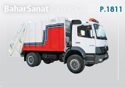 Benz Atco Garbage truck: p.1811