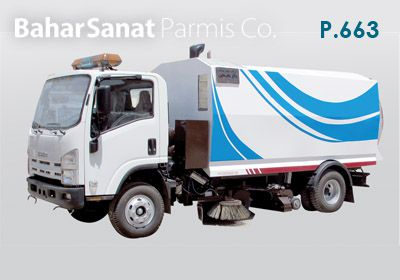 Road sweeper  P.663
